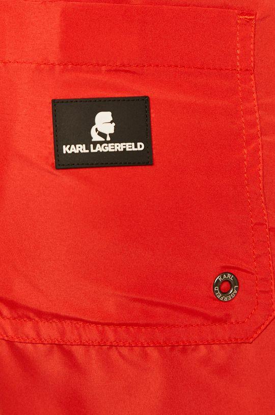 Karl Lagerfeld - Plavkové šortky  Podšívka: 7% Elastan, 93% Polyamid Hlavní materiál: 100% Polyester Materiál č. 1: 100% Polyester Materiál č. 2: 7% Elastan, 93% Polyamid
