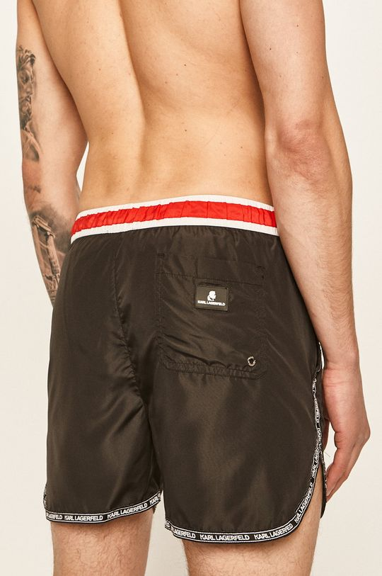 Karl Lagerfeld - Plavkové šortky  Podšívka: 7% Elastan, 93% Polyamid Základná látka: 100% Polyester 1. látka: 100% Polyester 2. látka: 7% Elastan, 93% Polyamid