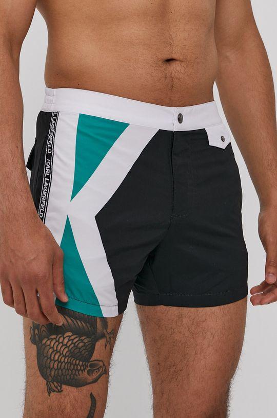 čierna Karl Lagerfeld - Plavkové šortky Pánsky