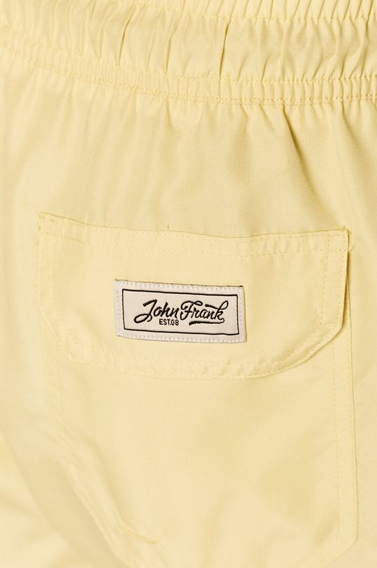 jasny żółty John Frank - Szorty kąpielowe