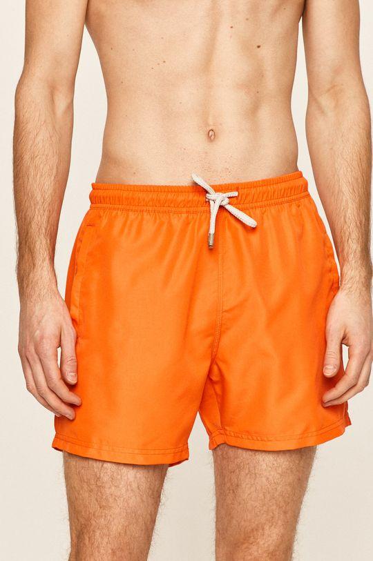 John Frank - Szorty kąpielowe pomarańczowy