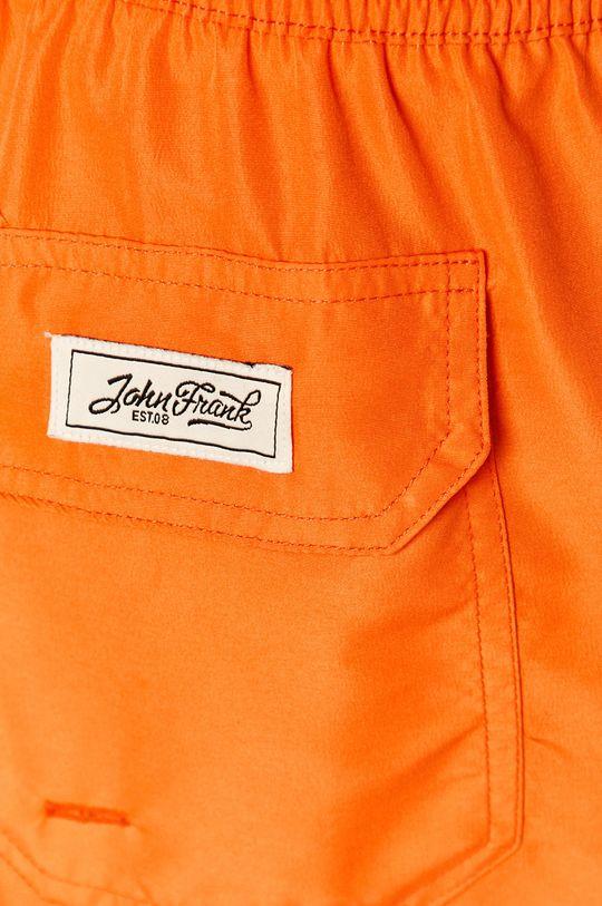 pomarańczowy John Frank - Szorty kąpielowe