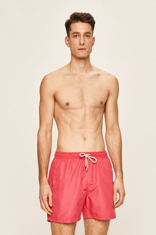John Frank - Szorty kąpielowe różowy