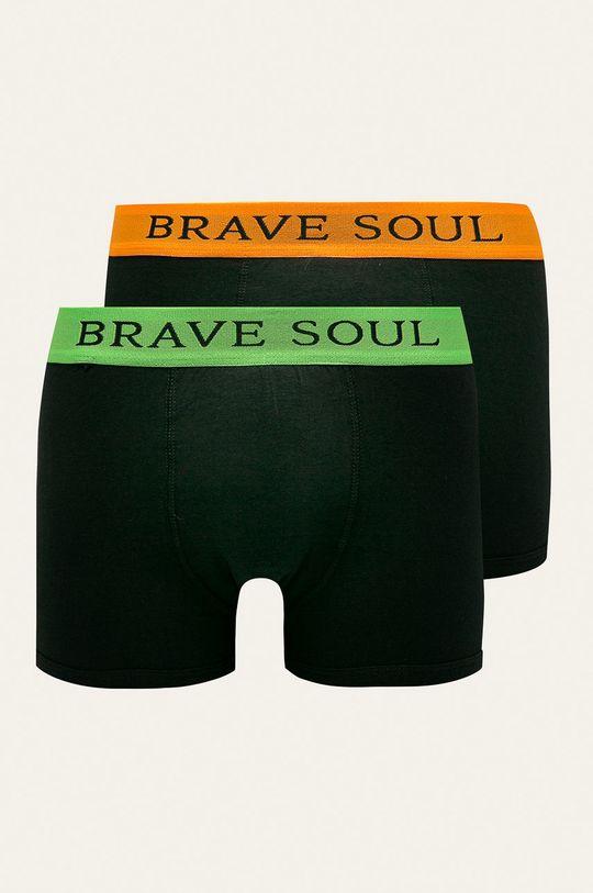 černá Brave Soul - Boxerky (2-pack) Pánský