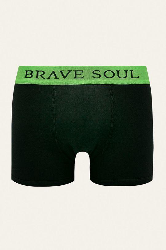 Brave Soul - Boxerky (2-pack) černá