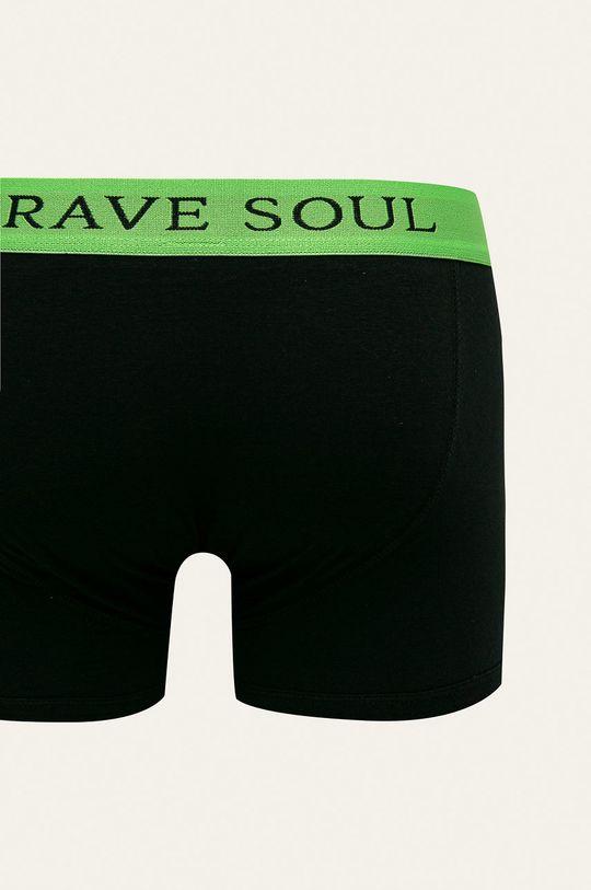 černá Brave Soul - Boxerky (2-pack)