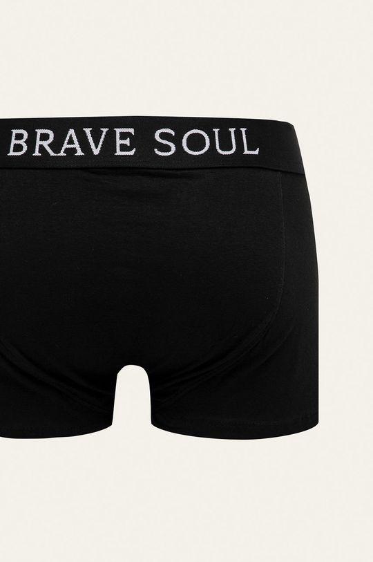 Brave Soul - Boxerky (5-pack) černá