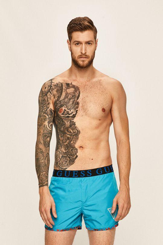 vícebarevná Guess Jeans - Oboustranné plavkové šortky Pánský