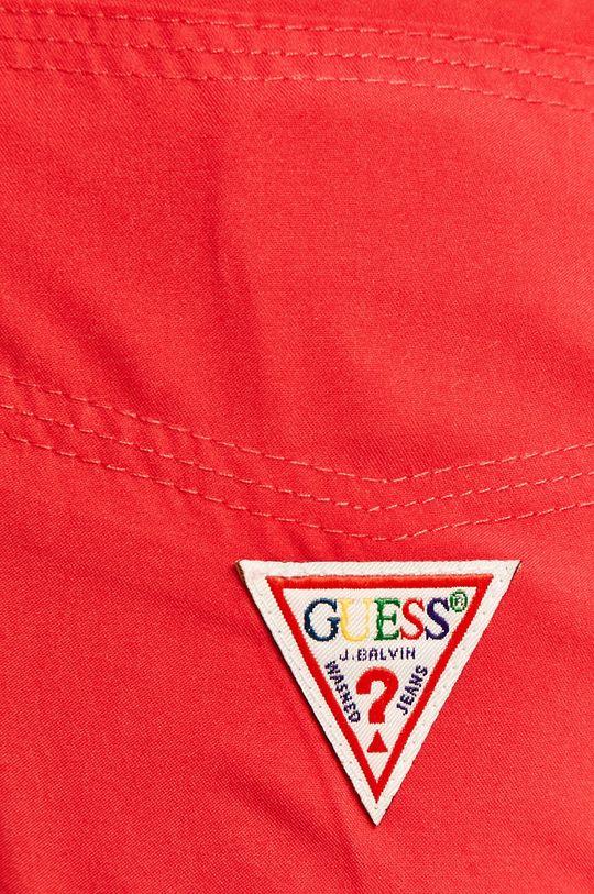 růžová Guess Jeans - Plavkové šortky