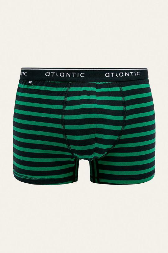 zelená Atlantic - Boxerky Pánsky