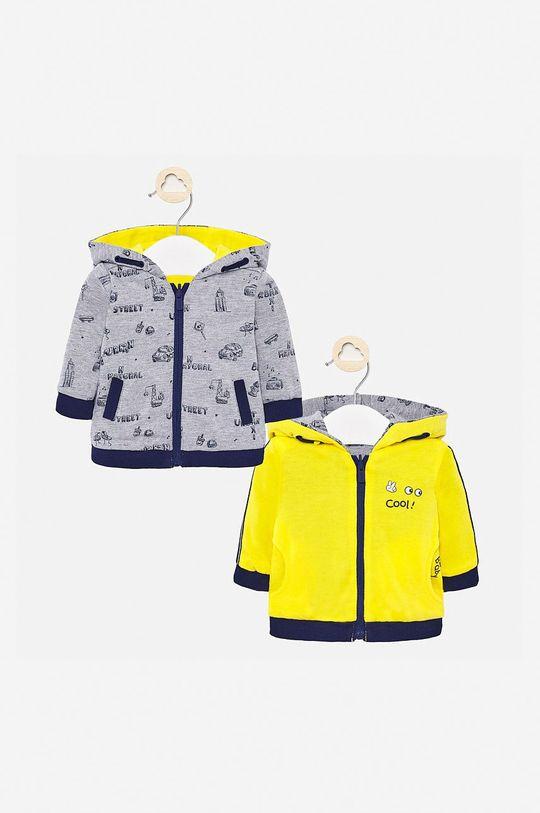 galben Mayoral - Bluza bebe 60-86 cm (2-pack) De băieți