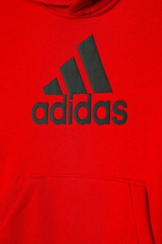 adidas Performance - Detská mikina 110-176 cm  Základná látka: 70% Bavlna, 30% Recyklovaný polyester  Podšívka kapucne : 35% Bavlna, 65% Recyklovaný polyester