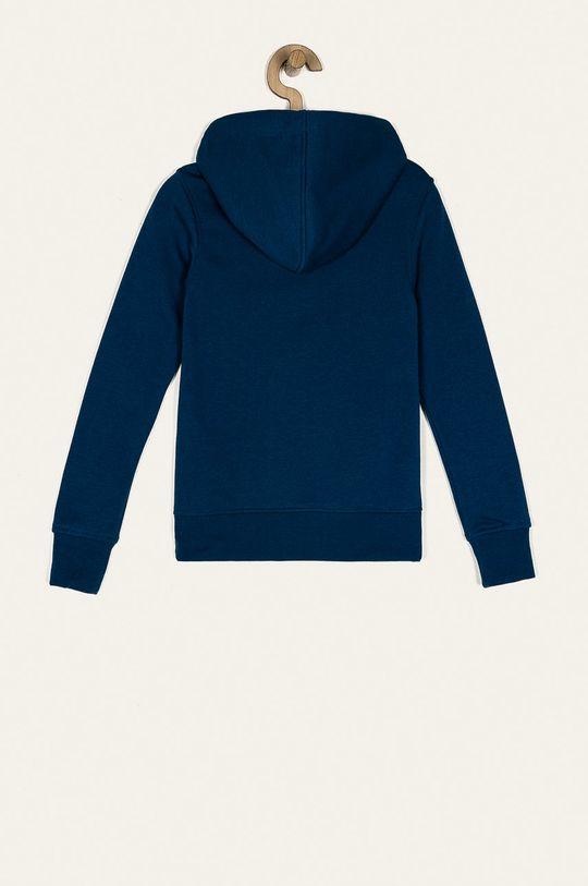 Jack & Jones - Bluza copii 128-176 cm albastru metalizat