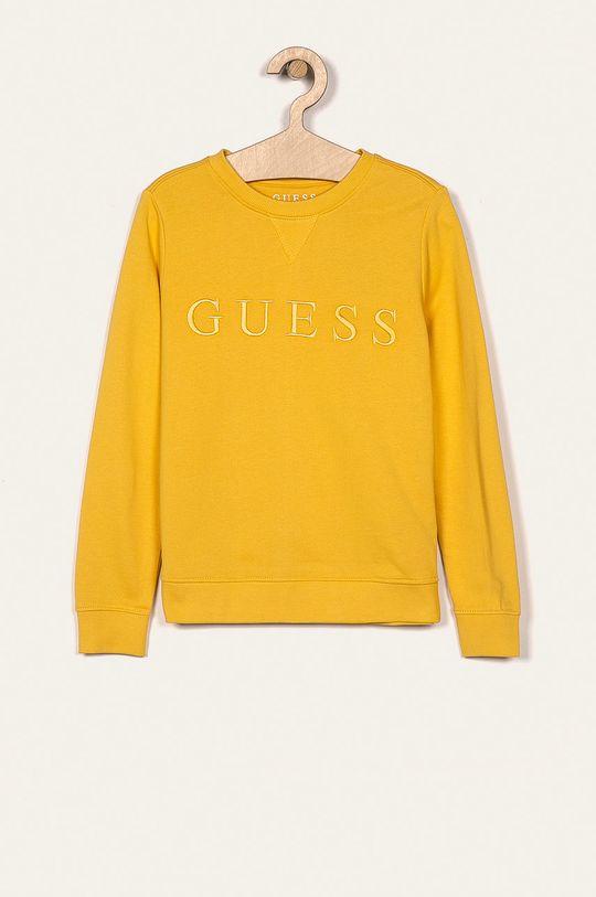 żółty Guess Jeans - Bluza dziecięca 118-175 cm Chłopięcy