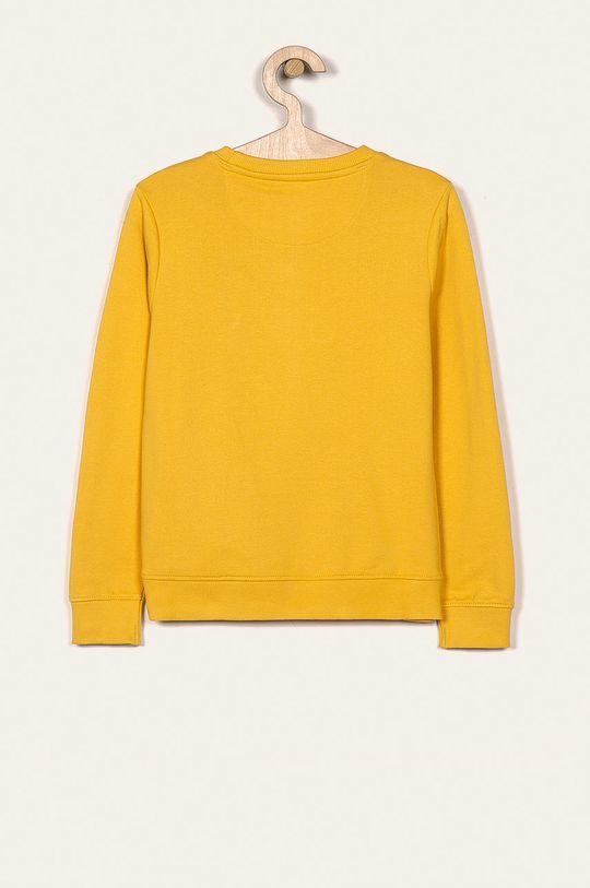 Guess Jeans - Bluza dziecięca 118-175 cm żółty