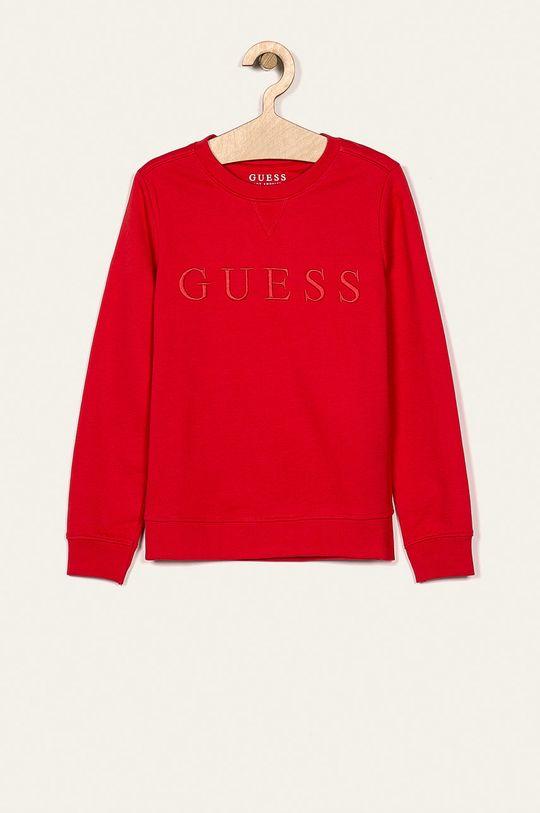 czerwony Guess Jeans - Bluza dziecięca 118-175 cm Chłopięcy