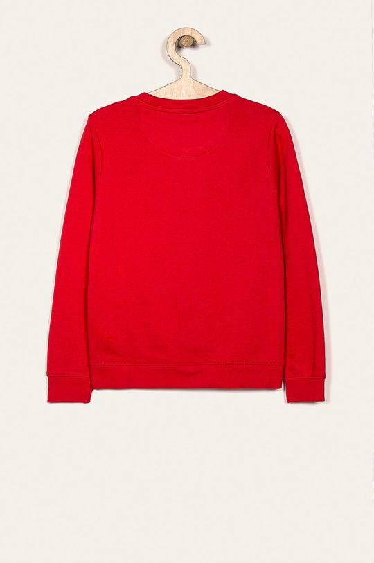 Guess Jeans - Bluza dziecięca 118-175 cm czerwony