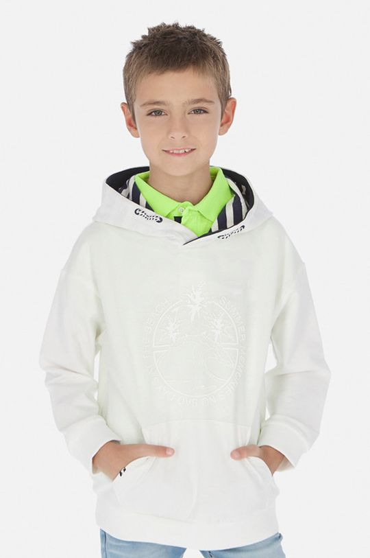 alb Mayoral - Bluza copii 128-172 cm De băieți