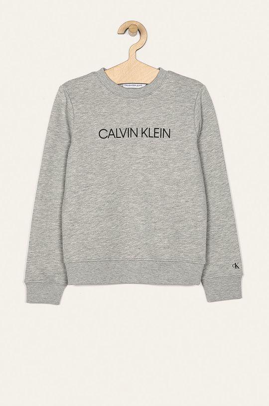 gri deschis Calvin Klein Jeans - Bluza copii 104-176 cm De băieți