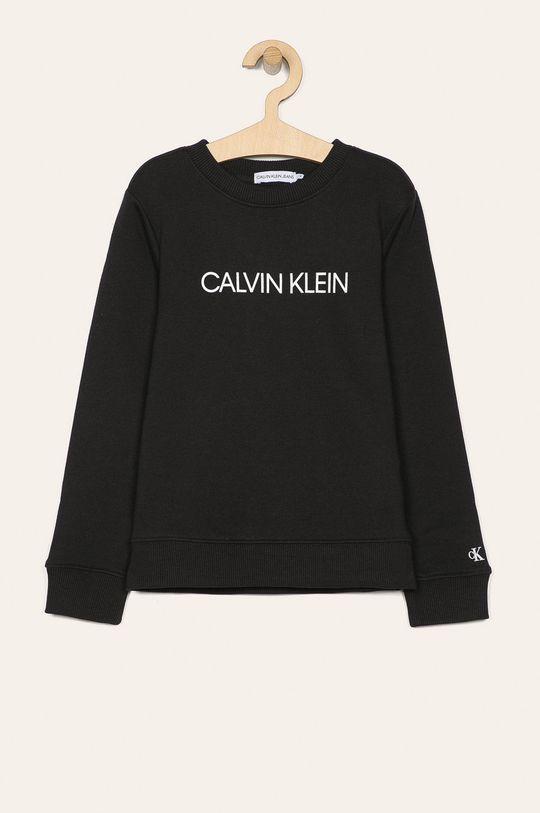 negru Calvin Klein Jeans - Bluza copii 104-176 cm De băieți