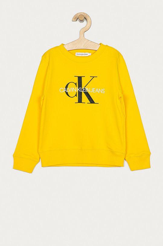 galben Calvin Klein Jeans - Bluza IU0IU00069 De copii