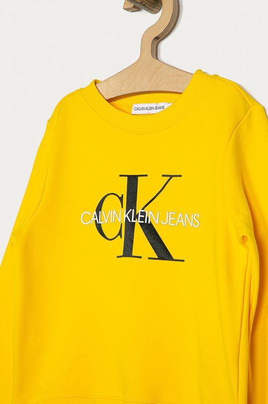 Calvin Klein Jeans - Mikina IU0IU00069 žlutá
