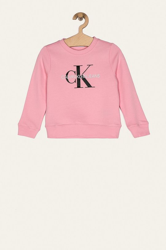 roz Calvin Klein Jeans - Bluza IU0IU00069 De copii