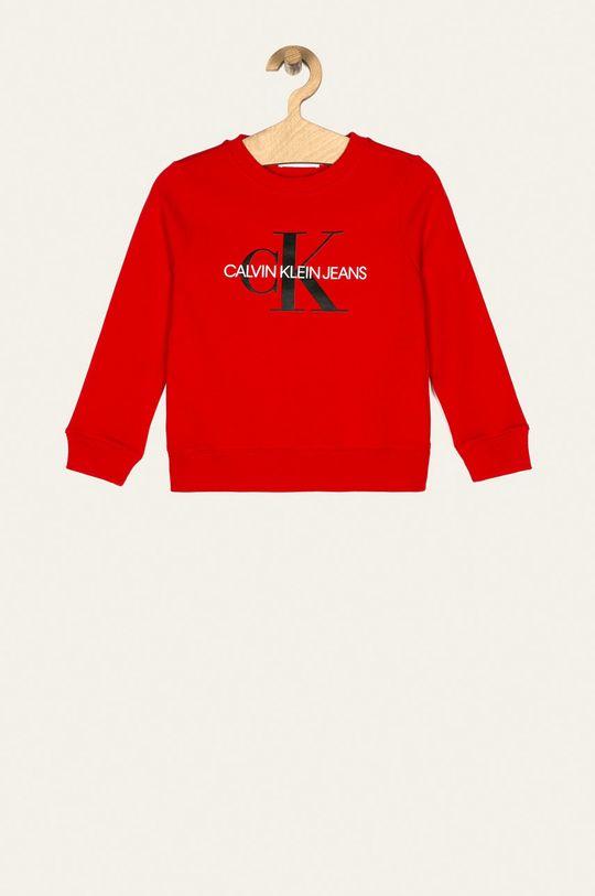 rosu Calvin Klein Jeans - Bluza copii 104-176 cm De copii