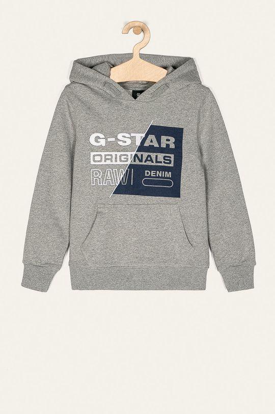 sivá G-Star Raw - Detská mikina 128-172 cm Chlapčenský