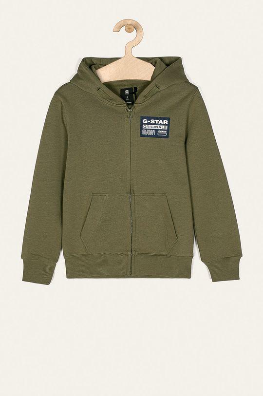 зелено-коричневий G-Star Raw - Дитяча кофта 128-176 cm Для хлопчиків