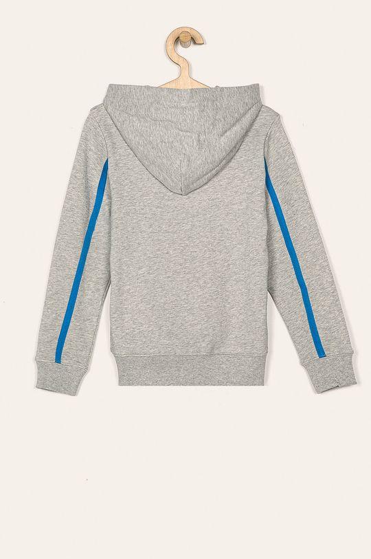 Calvin Klein Jeans - Detská mikina 116-176 cm svetlosivá