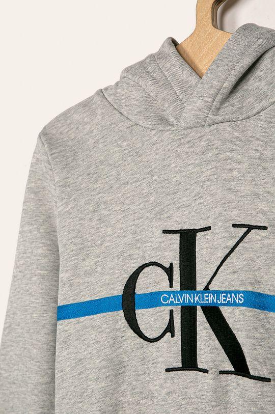 Calvin Klein Jeans - Detská mikina 116-176 cm  Základná látka: 100% Bavlna Elastická manžeta: 95% Bavlna, 5% Elastan