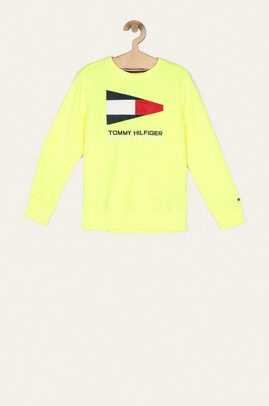jasny żółty Tommy Hilfiger - Bluza dziecięca 128-176 cm Chłopięcy