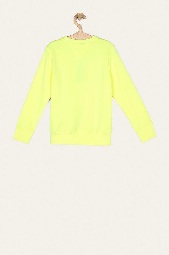 Tommy Hilfiger - Bluza dziecięca 128-176 cm jasny żółty