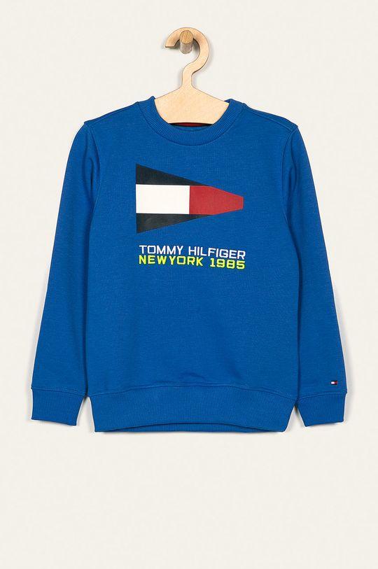 niebieski Tommy Hilfiger - Bluza dziecięca 128-176 cm Chłopięcy