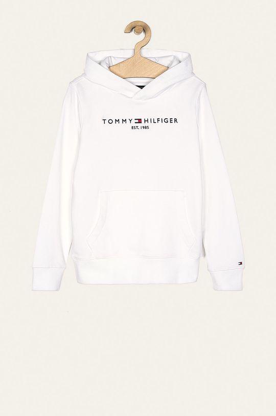 alb Tommy Hilfiger - Bluza copii 128-176 cm De băieți