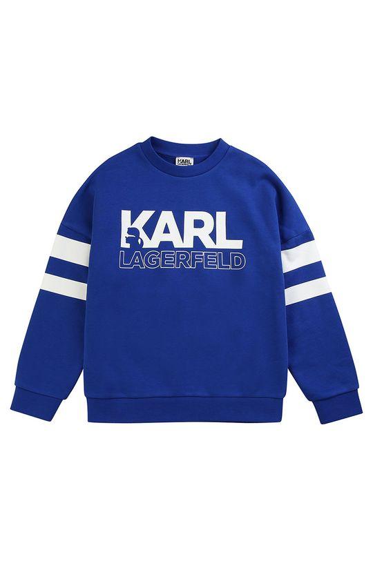 niebieski Karl Lagerfeld - Bluza dziecięca 114-150 cm Chłopięcy
