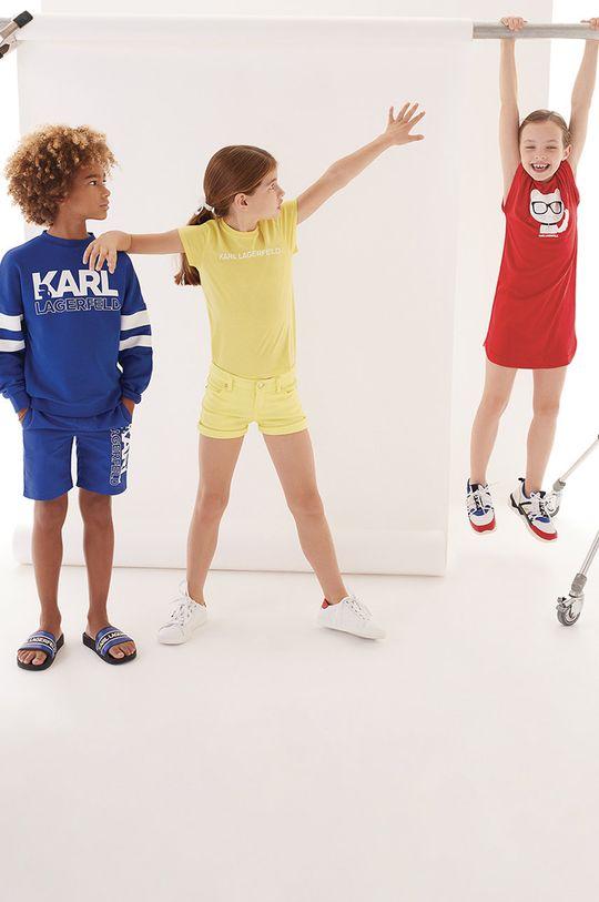 Karl Lagerfeld - Bluza dziecięca 114-150 cm 97 % Bawełna, 3 % Elastan