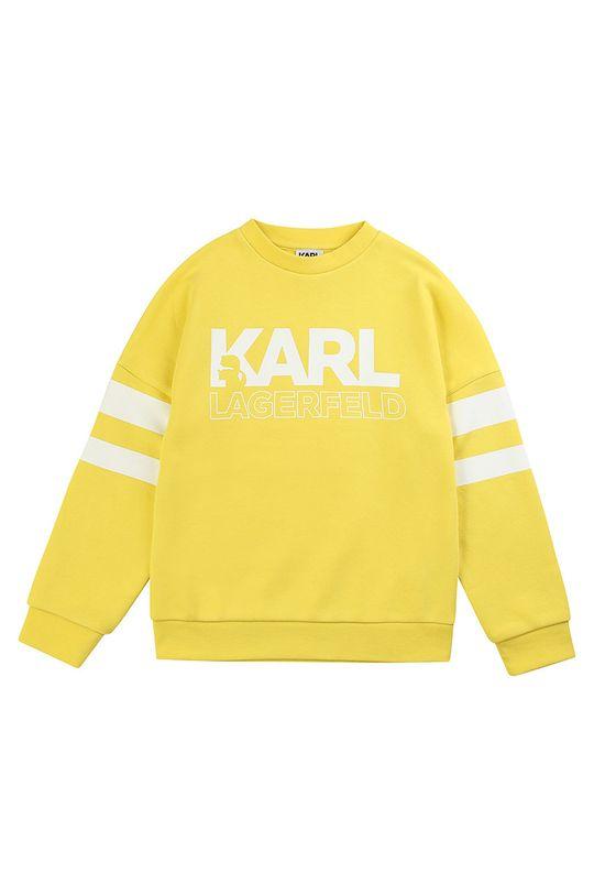 galben Karl Lagerfeld - Bluza copii 162-174 cm De băieți