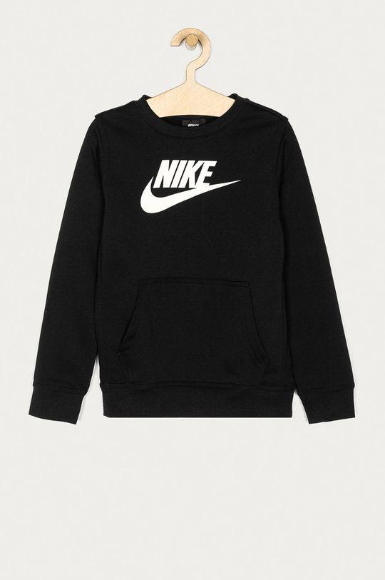 czarny Nike Kids - Bluza dziecięca 122-170 cm Chłopięcy