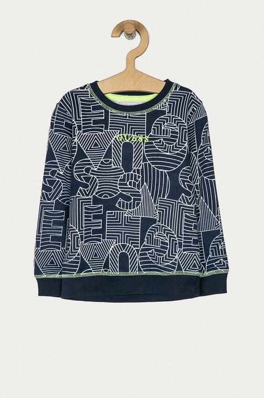 granatowy Guess Jeans - Bluza dziecięca 98-122 cm Chłopięcy