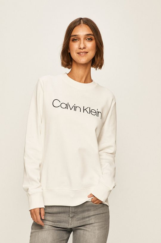 biały Calvin Klein - Bluza Damski