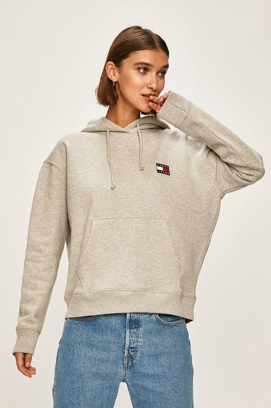 gri deschis Tommy Jeans - Bluza De femei