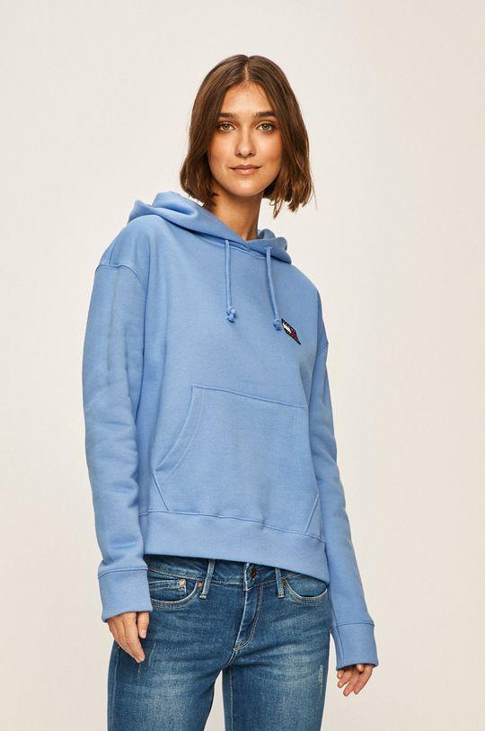 albastru deschis Tommy Jeans - Bluza De femei