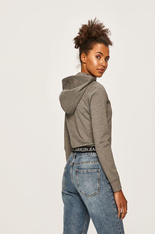 Calvin Klein Jeans - Mikina 2% Elastan, 74% Polyester, 24% Viskóza