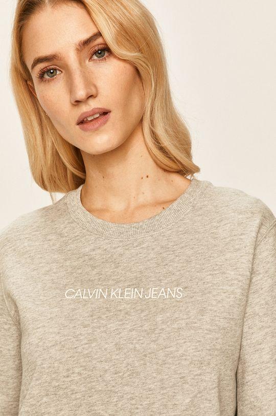 gri deschis Calvin Klein Jeans - Bluza