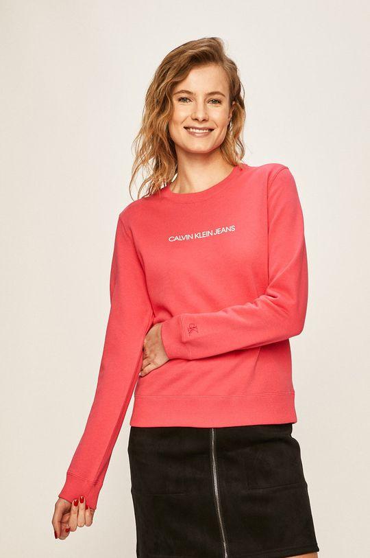 roz Calvin Klein Jeans - Bluza De femei