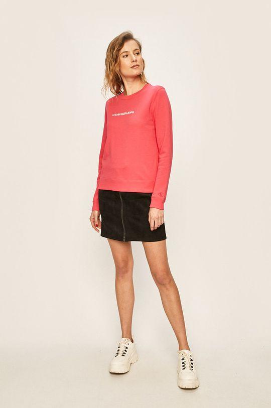 Calvin Klein Jeans - Bluza roz