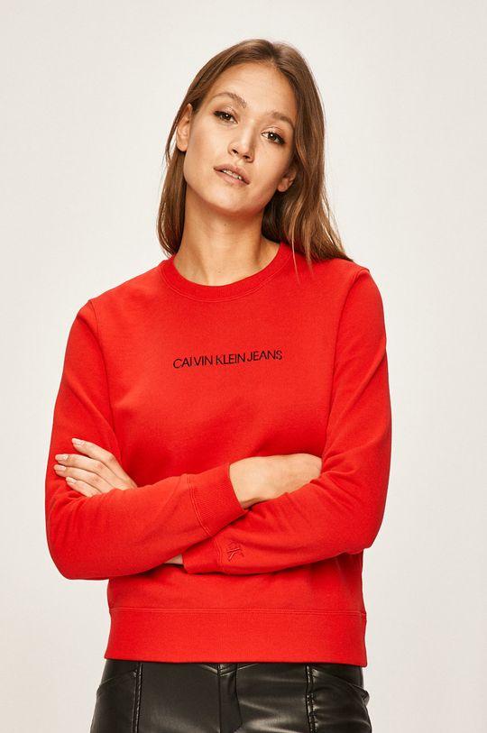 rosu Calvin Klein Jeans - Bluza De femei