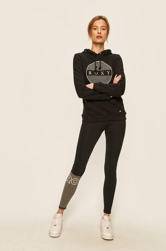 czarny Roxy - Bluza Damski